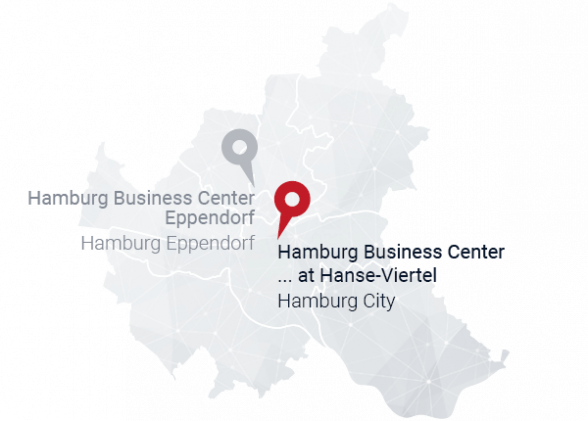 Hamburg business center location